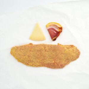 Cachopo de jamón y queso