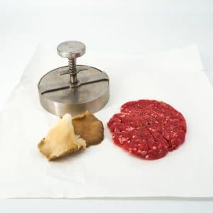 Hamburguesa foie y setas